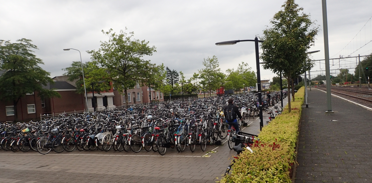Sykkelparkering, Assen