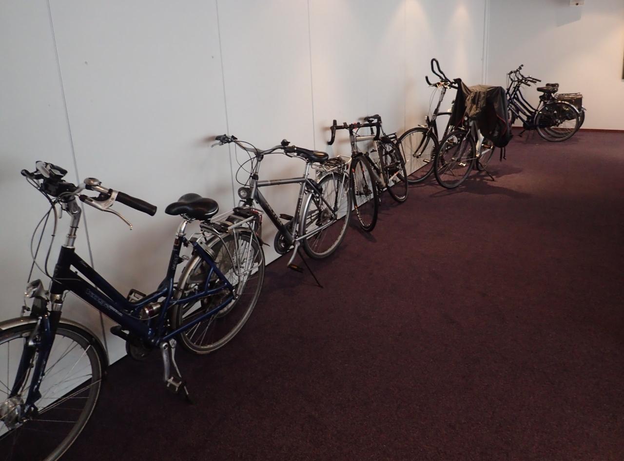 Sykkelparkering, hotell, Assen