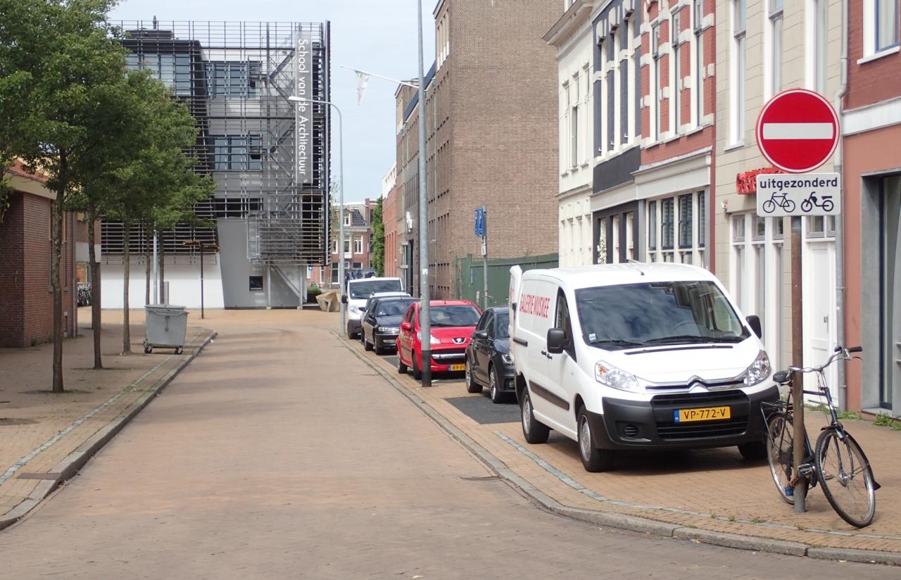 Innkjøringsforbud, ikke sykler, Groningen