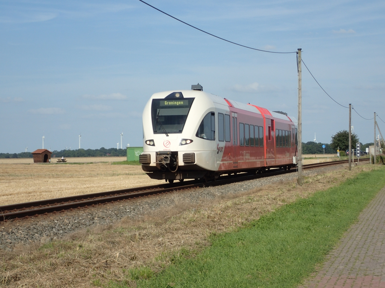 Tog, Grensen NL - Tyskland
