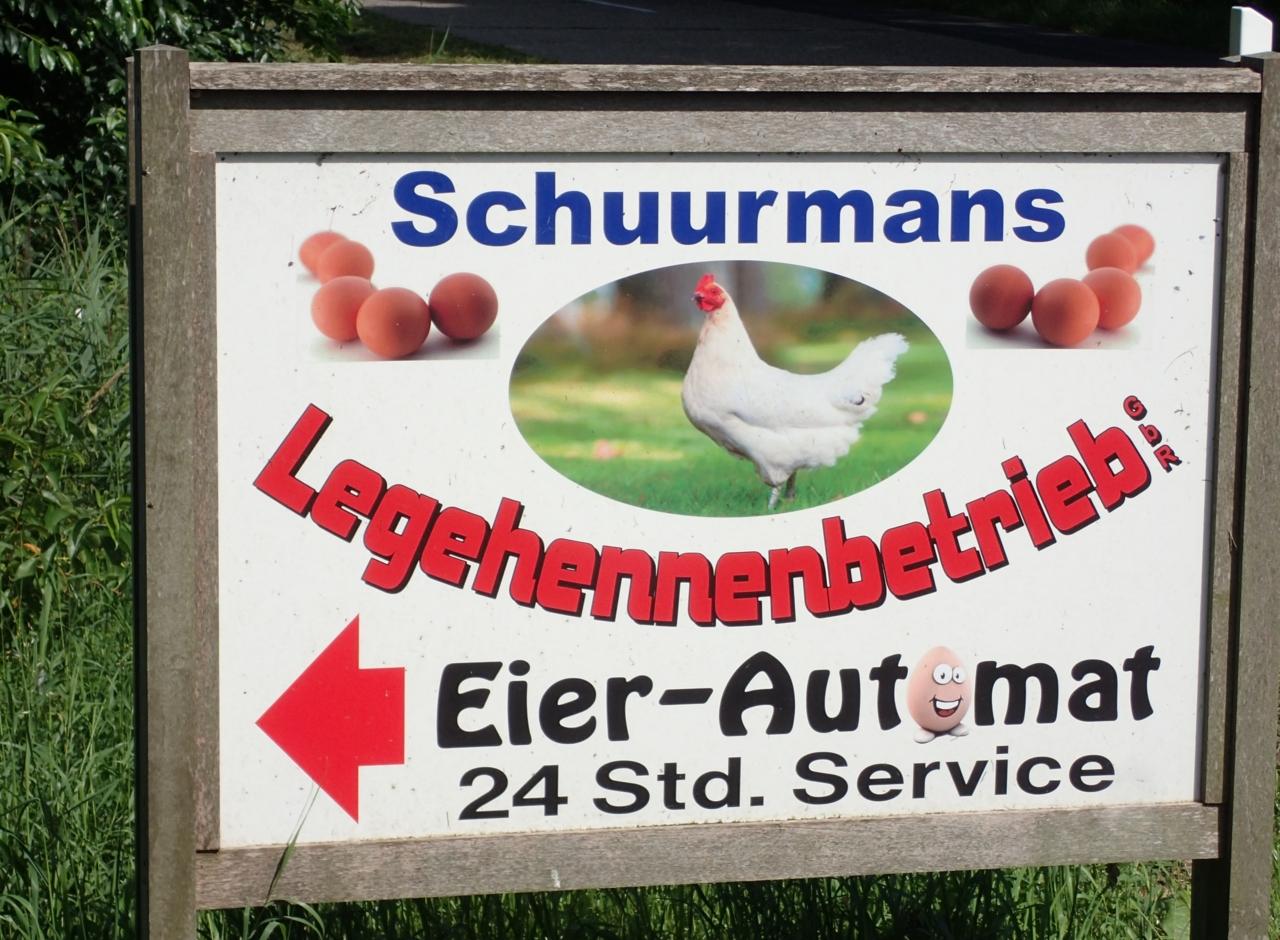 Eggautomat, Tyskland