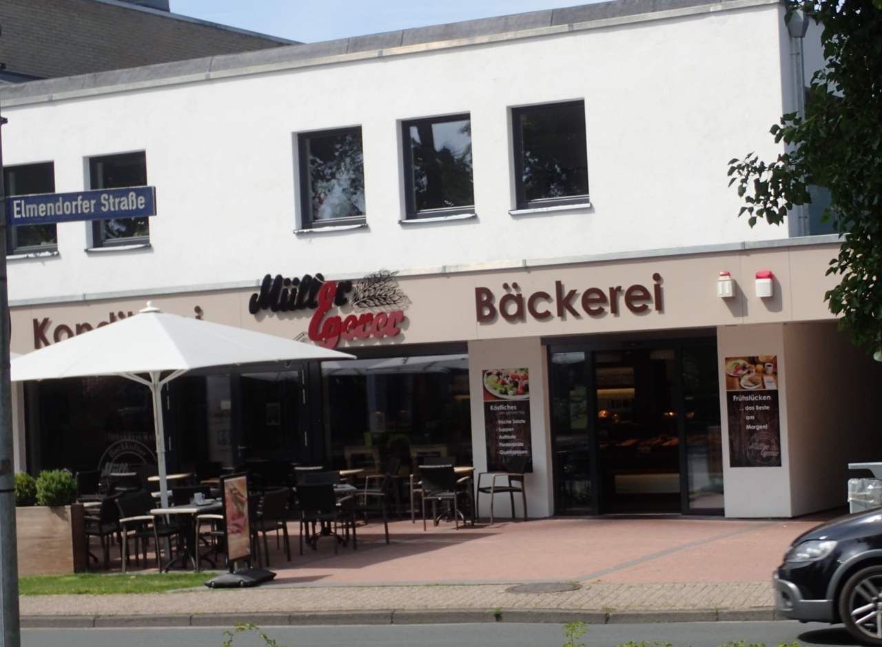 Cafe, Rostrup, Tyskland