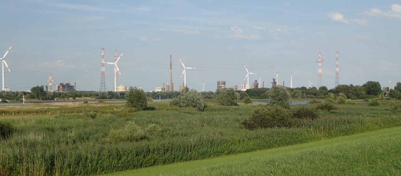 Industri og vindmøller, Bremen