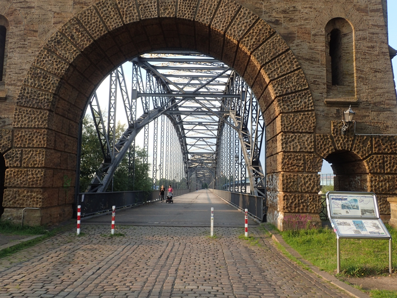 Gammel jernbanebro, Hamburg