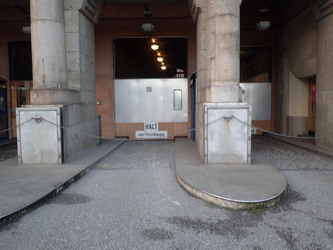 Tunnelinngang, Hambrug