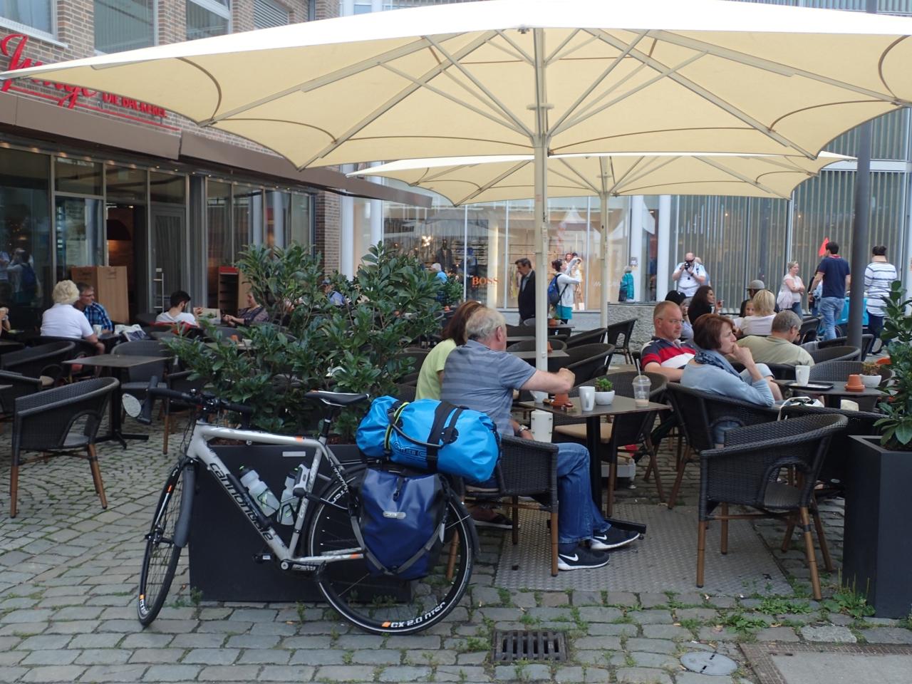 Kaffepause, Lübeck