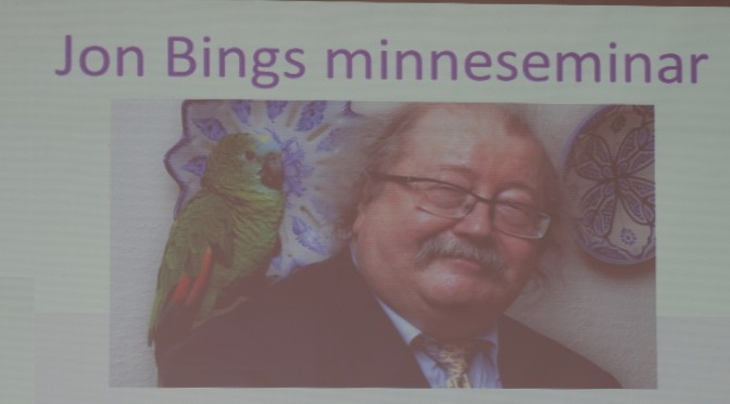 Minneseminar for Jon Bing — bilder